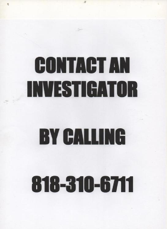 CALL A LOS ANGELES PROCESS SERVER
