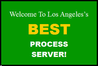 service of legal process in los angeles ca