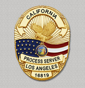 TRO Temporary Restraining Orders Process Servers Los Angeles California