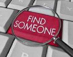 FIND SOMEONE NOW - LOOK UP YOUR DEFENDANT