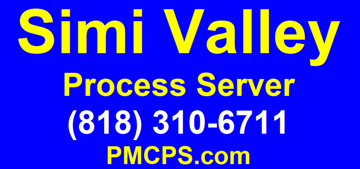 Simi Valley Process Server
