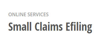 Small Claims EFiling in Los Angeles