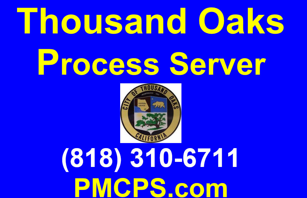 Thousand Oaks Process Server